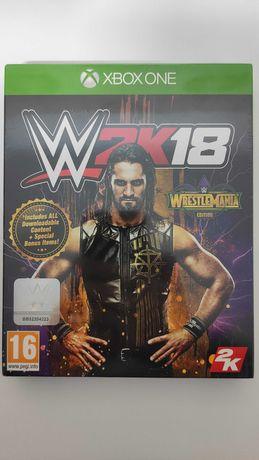 Xbox One W 2K18 WrestleMania Edition Novo a estrear / Selado