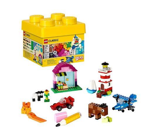 Конструктор LEGO Classic 10692 и пластина Lego 10699