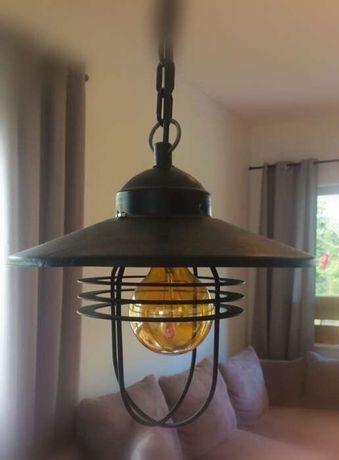 Lampa loft industrial stara lampa