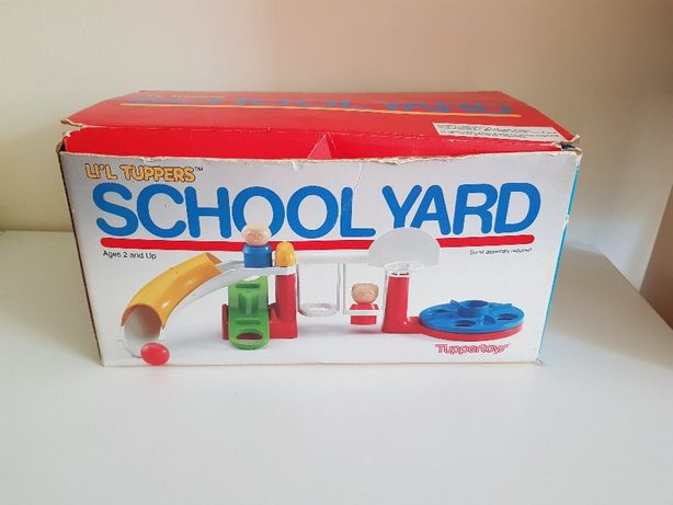 Unikatowa zabawka 1989 School Yard stan super