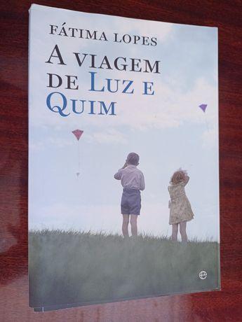 """Livro """"Viagem de Quim e Luz"""""""