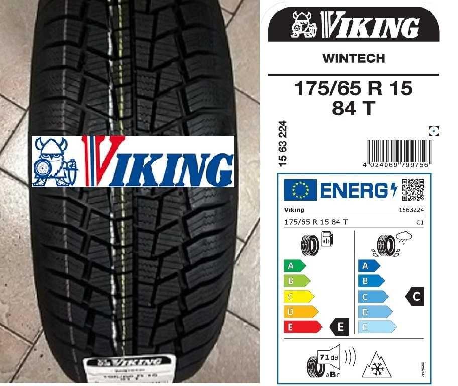 175/65R15 84T Viking WinTech   EC 71dB     DOT 2021