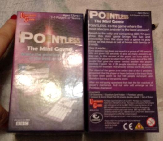 карточки игра английский язык Pointless The Mini Game