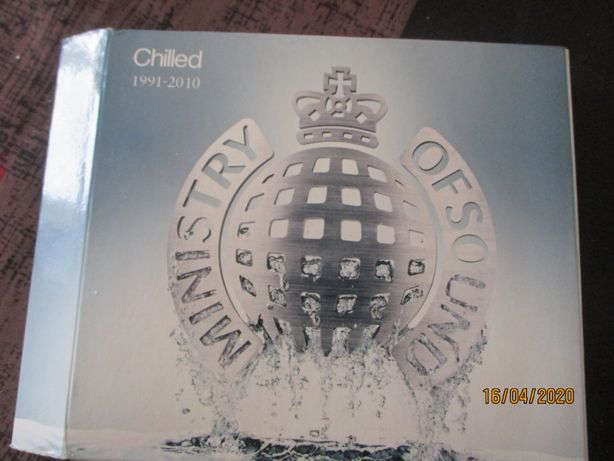 Triplo CD - Ministry of sound - chilled 91-10