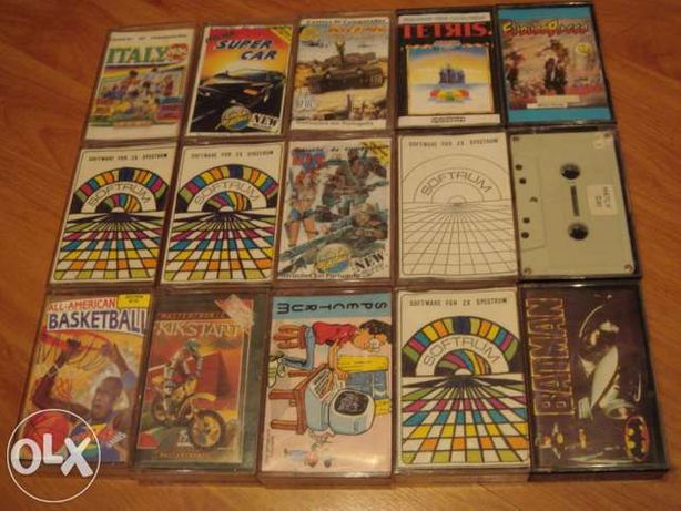 Cassetes jogos zx spectrum