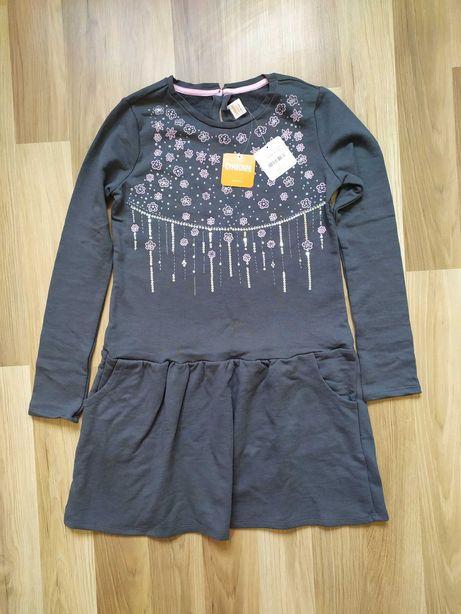 Платье с пайетками и длинным рукавом для девочки фирмы Gymboreе