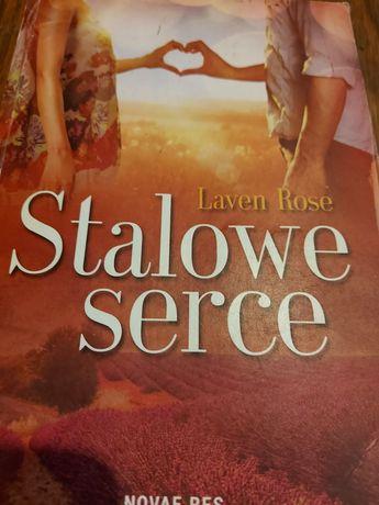 """Stalowe  serce"""" Laven Rose Romans"""
