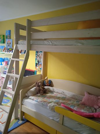 Кровать чердак, двухъярусная кровать
