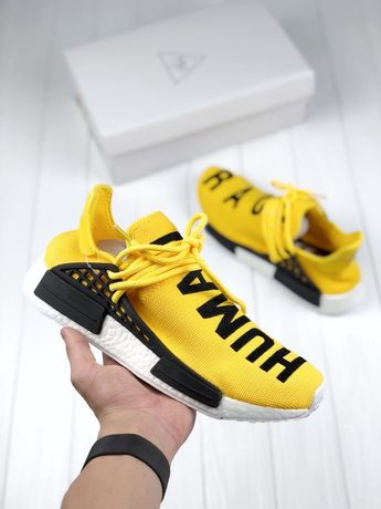 Adidas Human Race NMD Yellow White