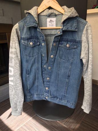 Джинсовый пиджак 158 (10-13 лет) Pepperts с трикотажными рукавами