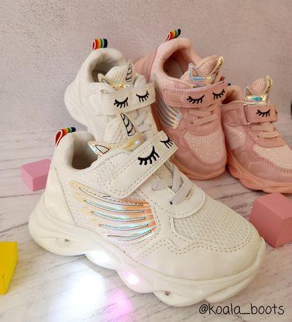 Мегастильные кроссовки на девочку Jong Golf размеры 21-31 демисезон