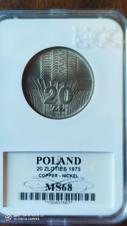 Moneta 20 zł 1973 rok