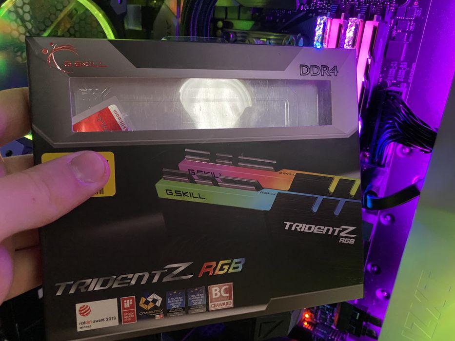 На гарантії! Оперативна пам'ять G.Skill Trident Z RGB 16 GB DDR4-3200 Монастыриска - изображение 1