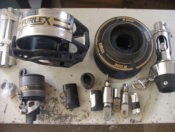 Selden Furlex 300 S, roler foka