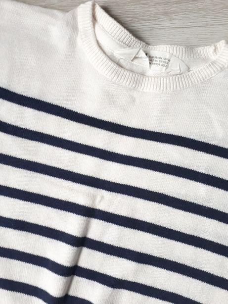 Krótki sweter 98/104 H&M