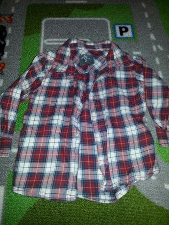 Koszula w kratę hm 86