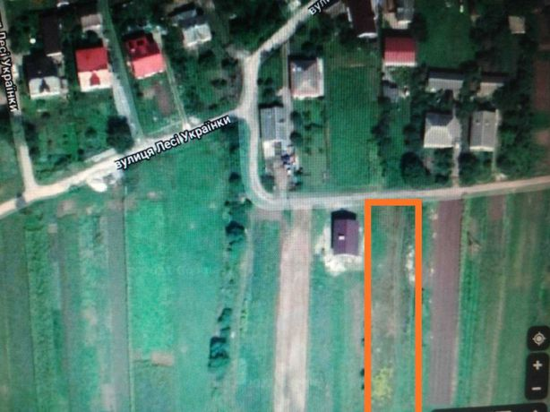 Земельна ділянка під забудову,біля Львову