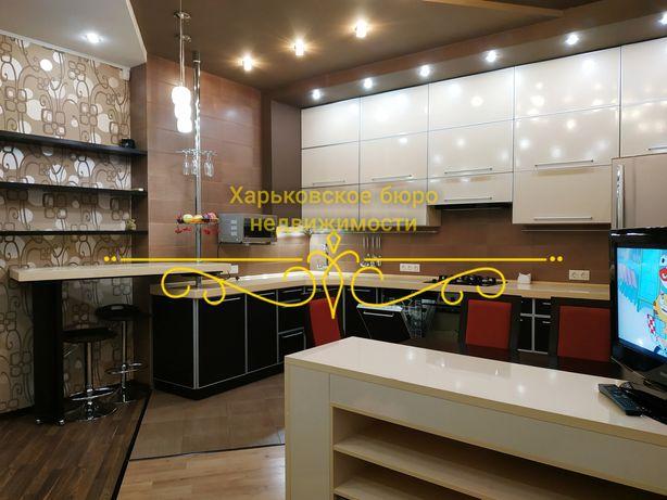 Сдам 4комн единственную двухуровневую квартиру в Харькове в центре!