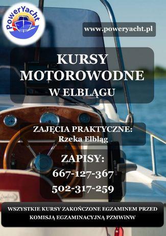 Kurs sternik motorowodny w Elblągu od 14 roku życia