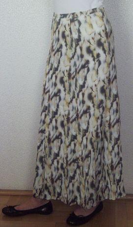 Spódnica długa, Gerry Weber, rozmiar 36, wiskoza + bawełna