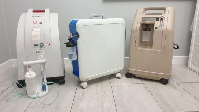 Koncentrator tlenu, butla z tlenem, tlenoterapia, tlen