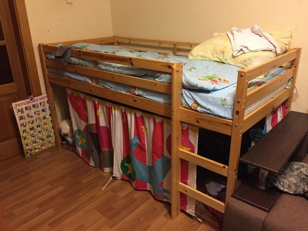 Кровать + ящик для игрушек
