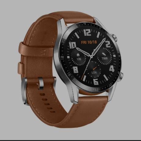 Smartwatch Huawei Watch GT 2 Classic Sport brązowy NOWY