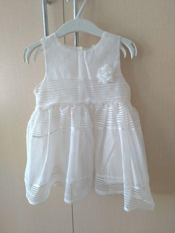 Платье H&M на годик, нарядное, крестильное, для крестин