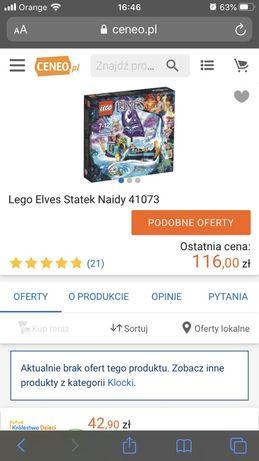 LEGO® 41073 Elves Statek Naidy