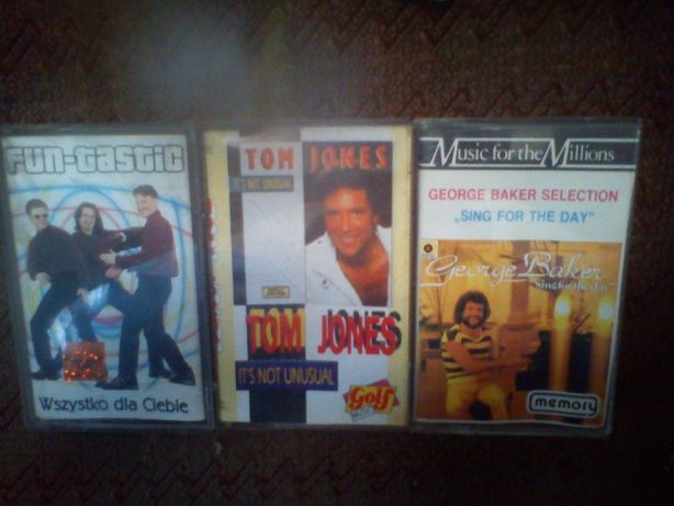 Kasety Fun-Tastic Tom Jones George Baker