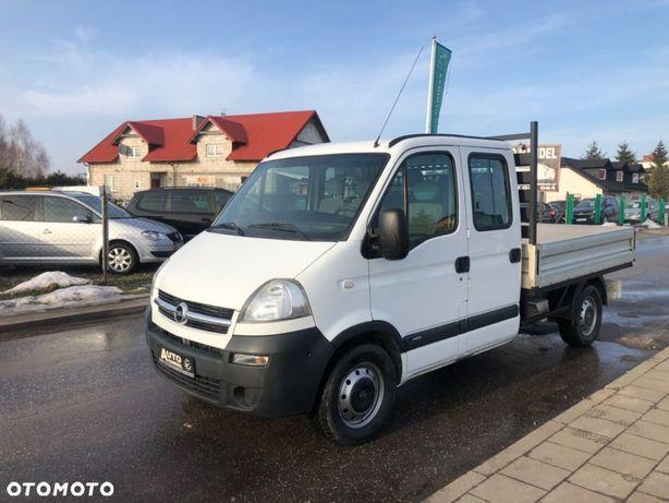 Opel Movano  Master Movano Iveco Brygadówka Dubel Doka 2.5 120KM BDB