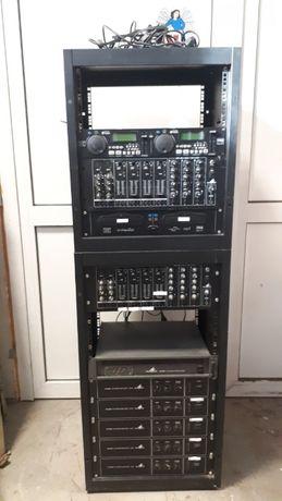 Sprzęt audio Monacor - Mikser / Odtwarzacz CD / Dj / Szafa Rack
