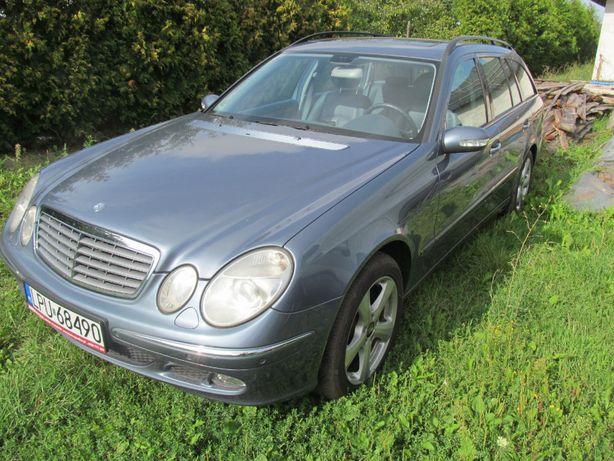Mercedes klasa E W211 E350 elegance LPG kombi automat 2004r/2005r