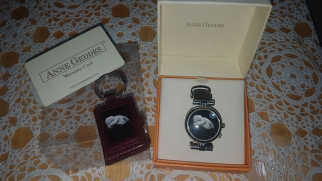 Relógio e porta chaves colecção artista fotógrafa Anne Geddes