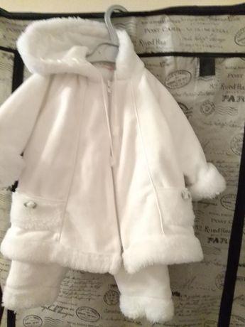 Костюмчик для девочку на выписку из роддома, нарядный.Весна