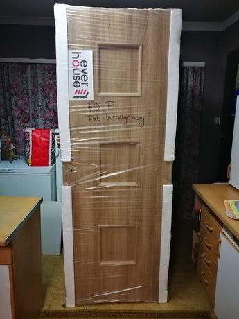 Drzwi pokojowe, 70 prawe, ever house, dąb bursztynowy
