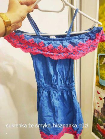 2 sukienki +spodenki 30zł