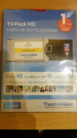 Tnk tv pack hd cyfra+ nc+ plus modul ci + miesiac tehnisat tuner.