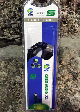 Cabo carregador Micro USB - 1,5 metros - Novo / Selado