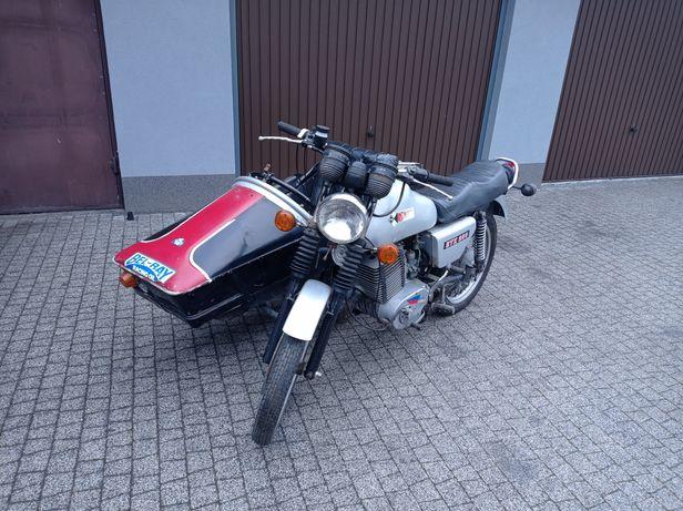 MZ ETZ 250 z koszem bocznym