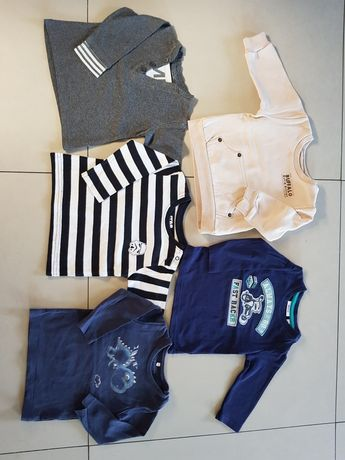 Bluza, koszulki długi rękaw reserved, mexx 68 cm