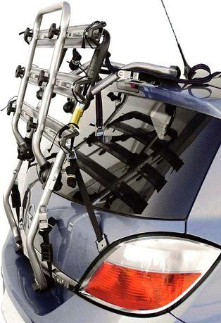Bagażnik rowerowy. Uniwersalny bagażnik na 3 rowery.