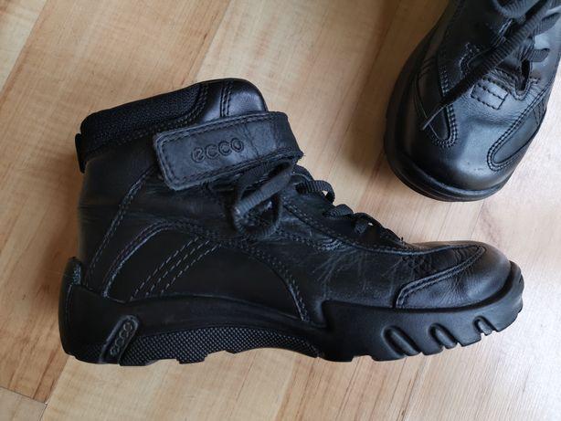 ECCO super buty czarne skóra rozmiar 32