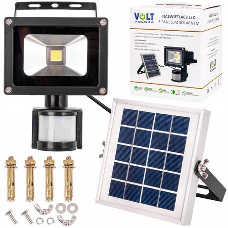Lampa solarna panel naświetlacz led halogen 10W (SOL51)