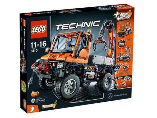 Lego 8110 Mercedes-Benz Unimog U 400