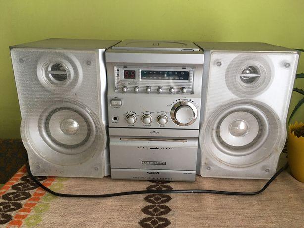 Wieża stereo radio odtwarzacz CD głośniki
