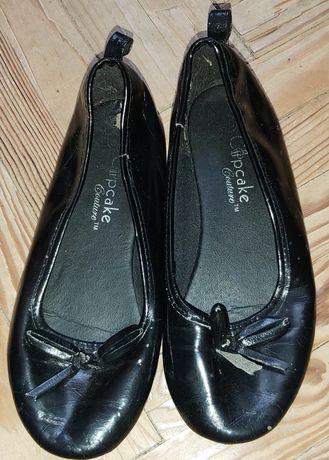 Czarne baleriny dla dziewczynki r 30