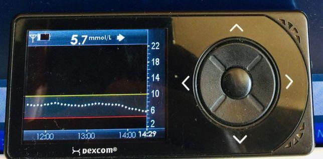 Мониторинг Декском Dexcom G4 в ммоль/л. Монитор (гарантия), сенсор