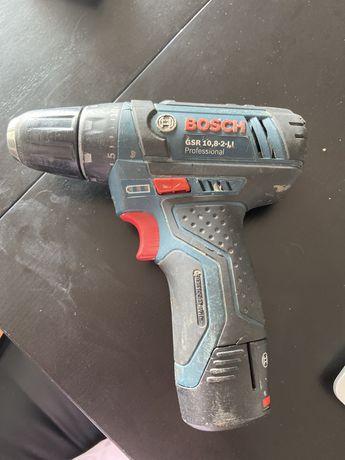 Aparafudadora Bosch GRS 10,8-2-LI c 1 bateria