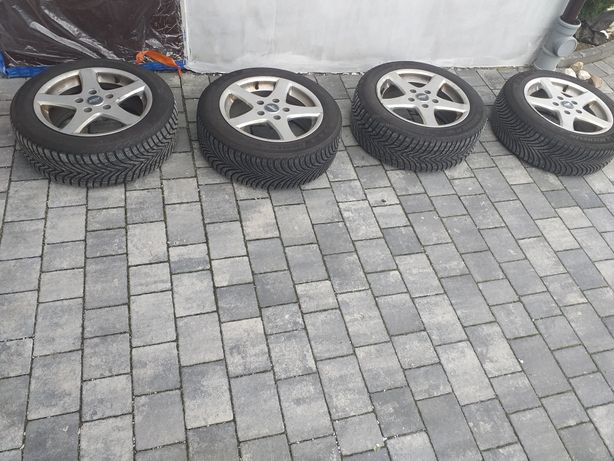 Bmw E46 Alufelgi + opony zimowe Michelin